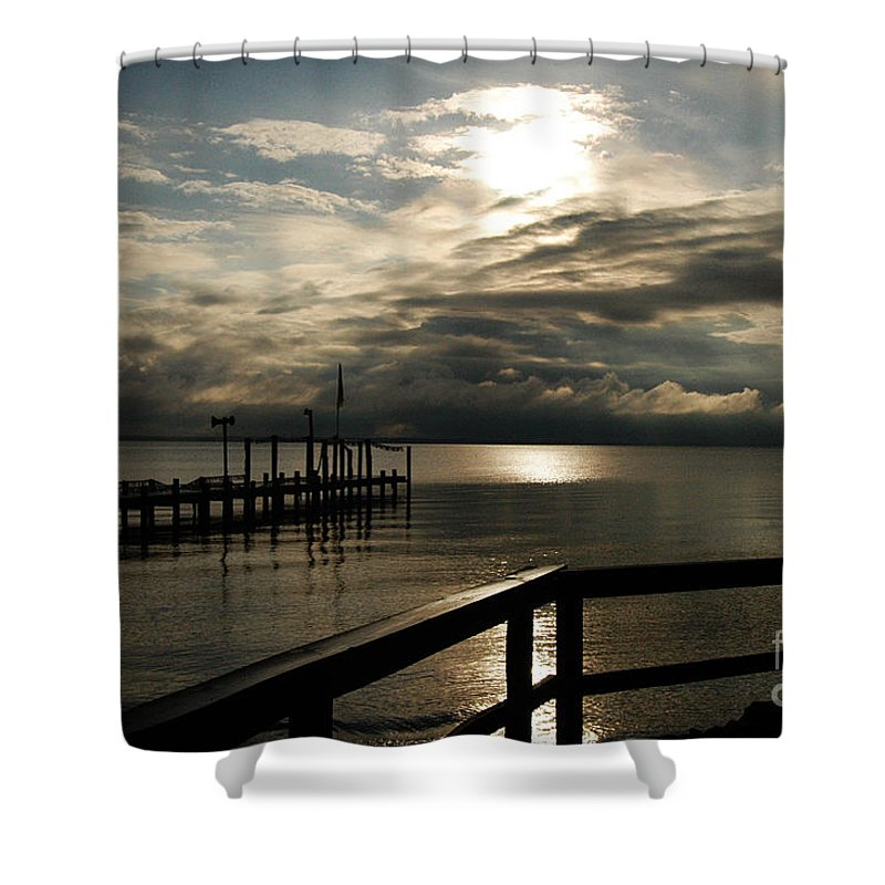 Clay Shower Curtain featuring the photograph After The Rain by Clayton Bruster