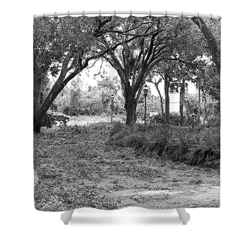 Outdoors Shower Curtain featuring the photograph After The Storm by Clarence Ratliff