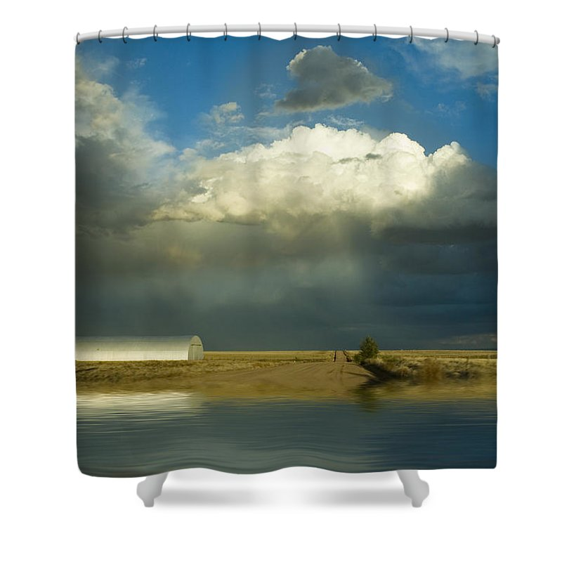 Storm Shower Curtain featuring the photograph After The Storm by Jerry McElroy