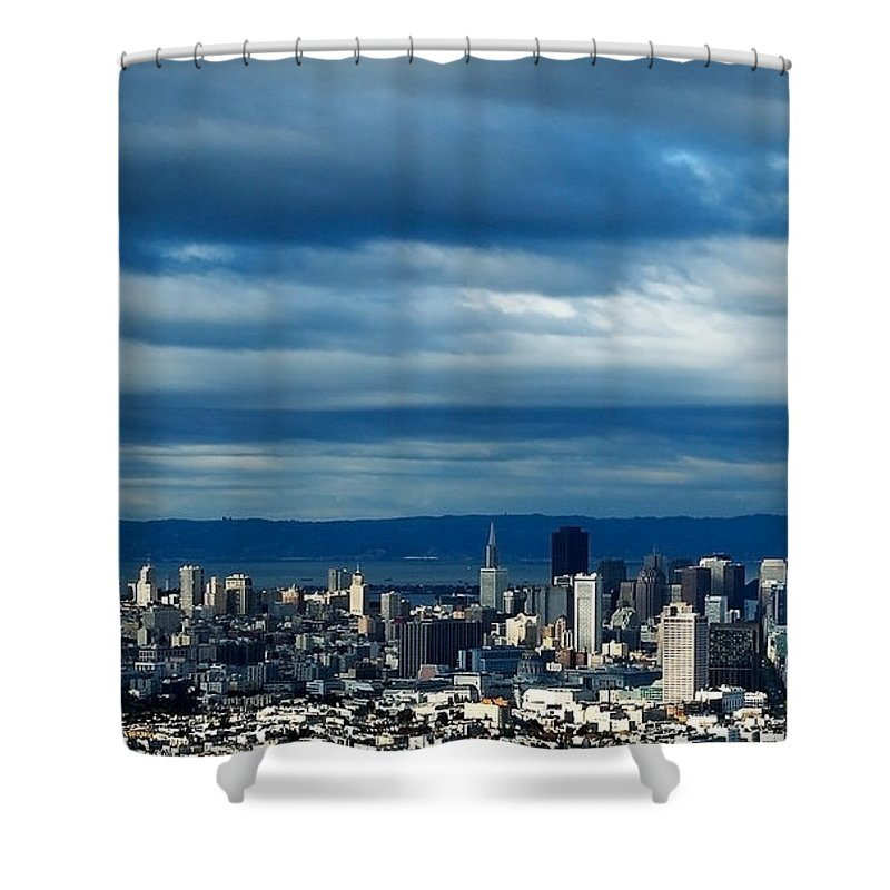 Storm Shower Curtain featuring the photograph After The Storm by Mick Burkey