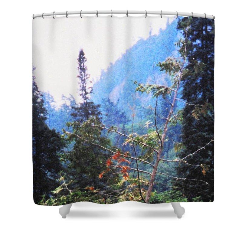 Agawa Shower Curtain featuring the photograph Agawa Canyon by Ian MacDonald