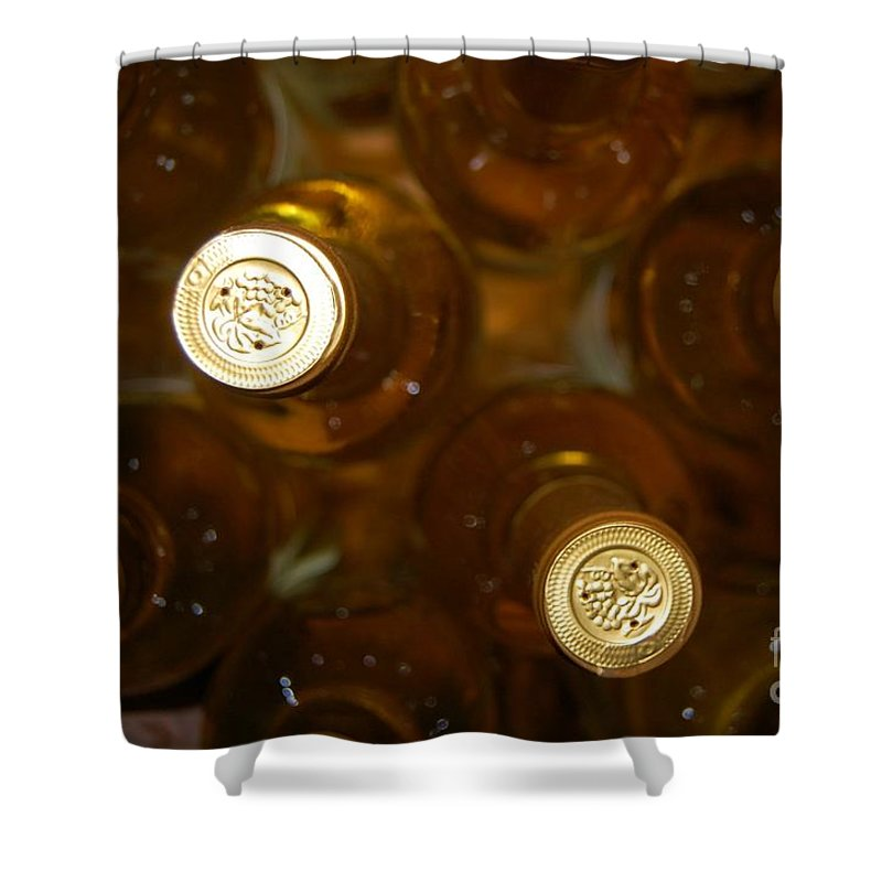 Wine Shower Curtain featuring the photograph Aged Well by Debbi Granruth