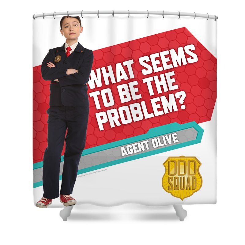 Agent Olive Shower Curtain For Sale By Odd Squad