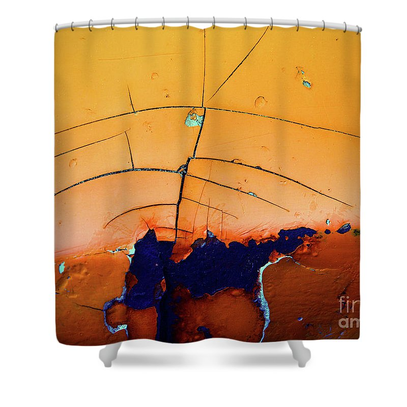 Urban Shower Curtain featuring the photograph Aging In Colour 4 by Tara Turner