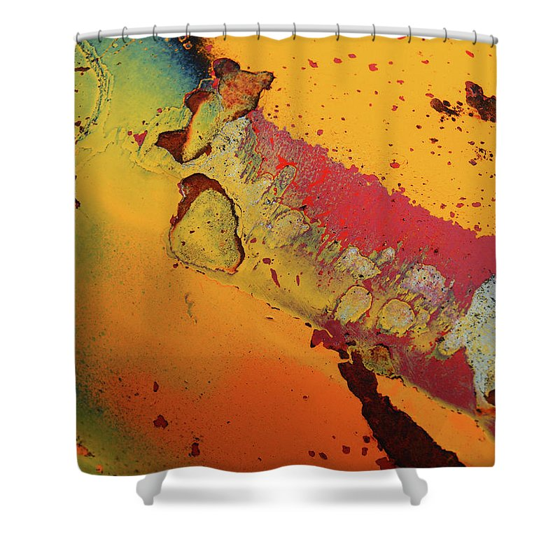 Urban Shower Curtain featuring the photograph Aging In Colour 5 by Tara Turner