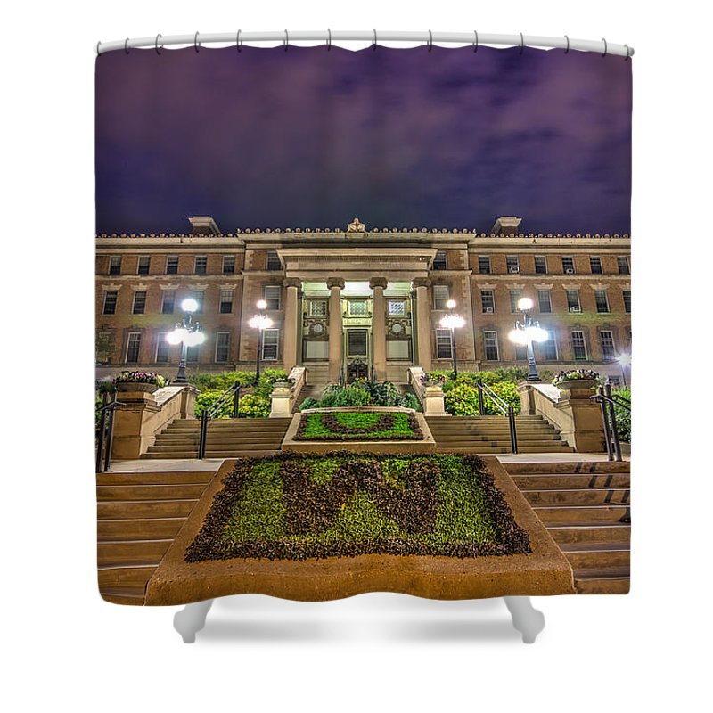 Uw Madison Shower Curtain Featuring The Photograph Agricultural Hall By Gregory Payne