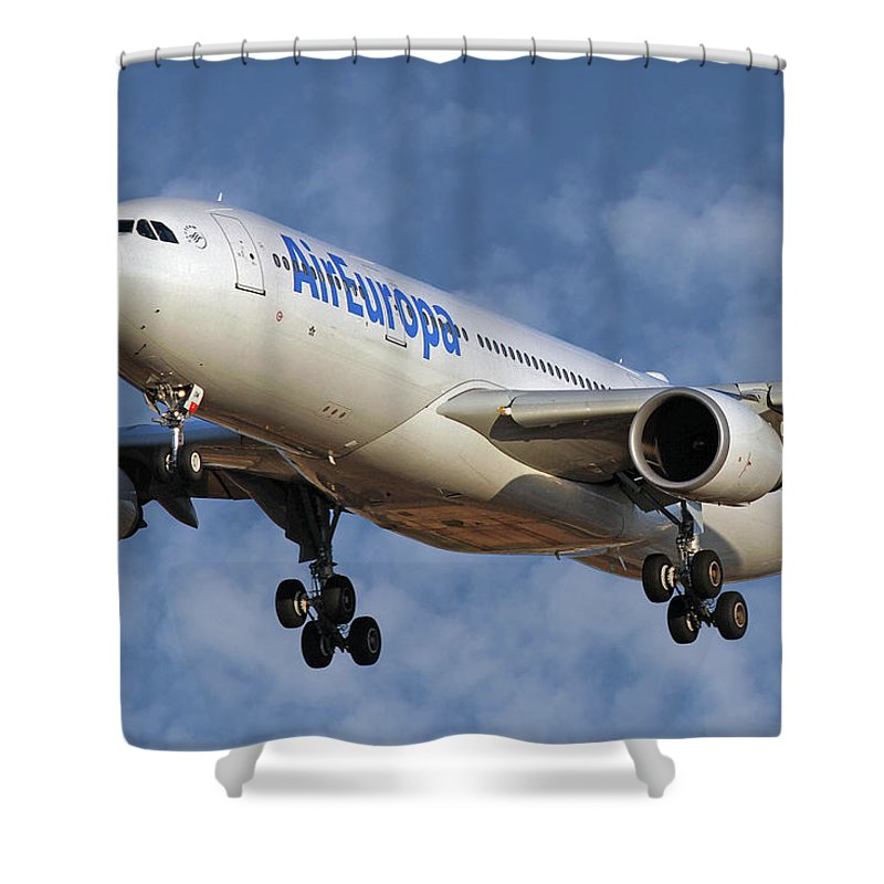 Europa Photographs Shower Curtains