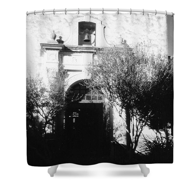 Alamo Shower Curtain featuring the photograph Alamo by Pharris Art