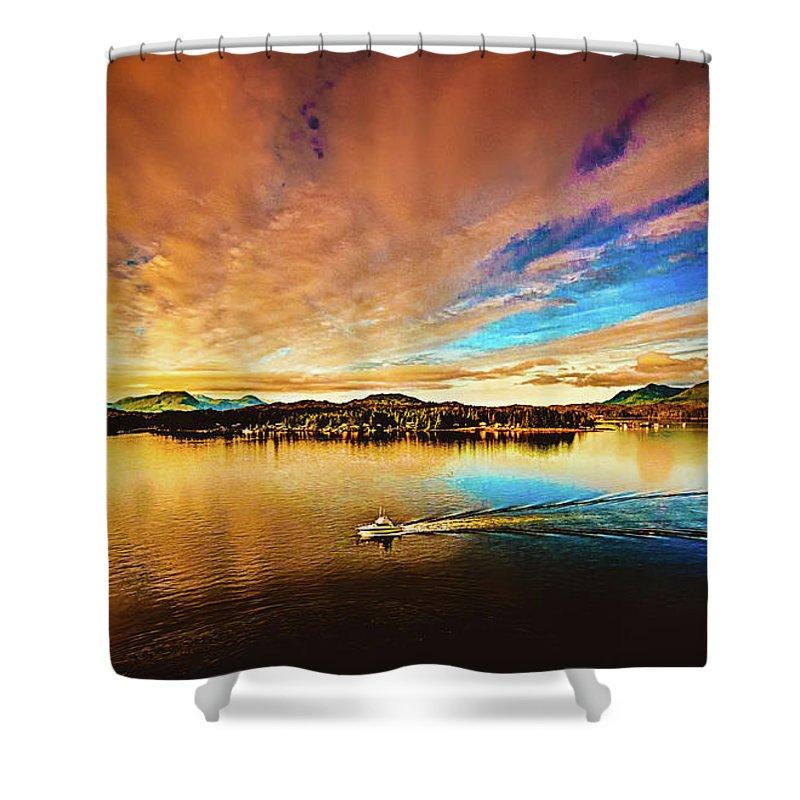 Alaska Shower Curtain featuring the photograph Alaska by Bill Howard