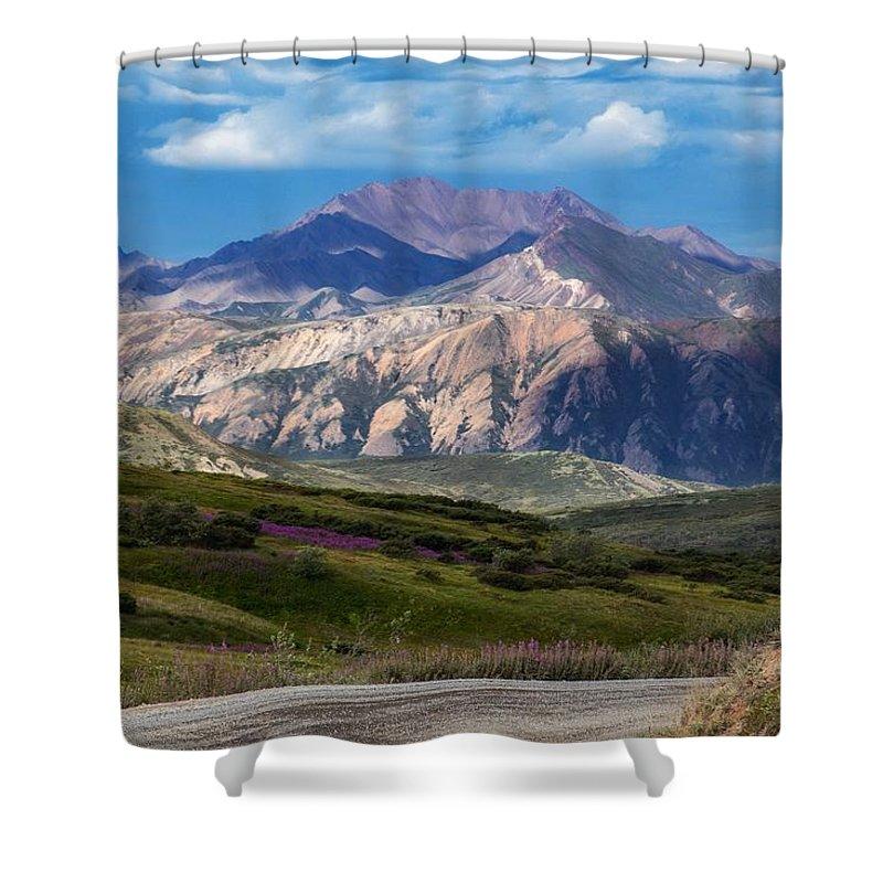 Photography Shower Curtain featuring the photograph Alaskan Beauty by Dawn Van Doorn