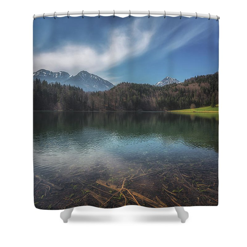 Alatsee Shower Curtain featuring the photograph Alatsee by Chris Fletcher
