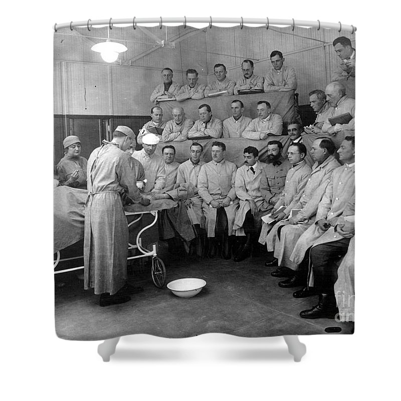 20th Century Shower Curtain featuring the photograph Alexis Carrel by Granger