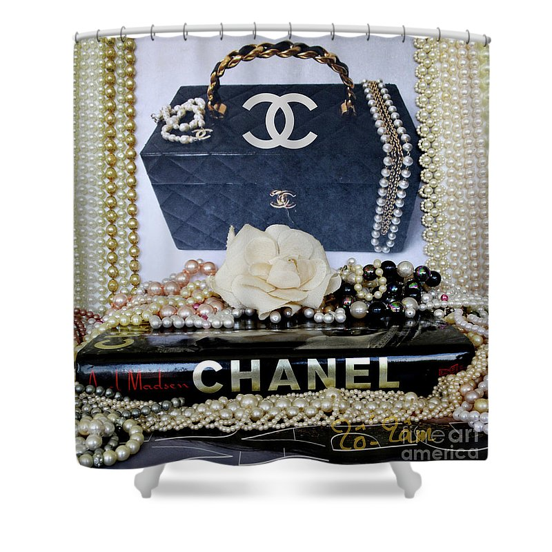 All About Coco Chanel Shower Curtain For Sale By To Tam Gerwe