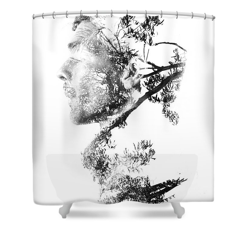 Exposure Shower Curtain featuring the photograph All Is One by Jorgo Photography - Wall Art Gallery
