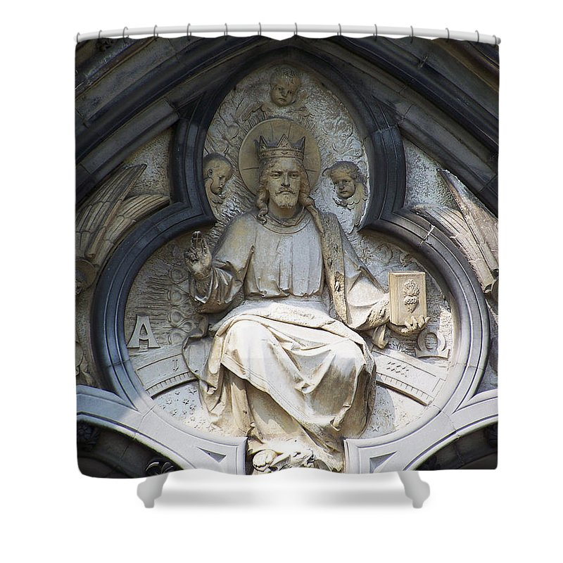 Ireland Shower Curtain featuring the photograph Alpha And Omega by Teresa Mucha