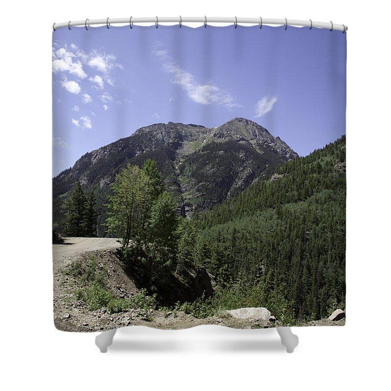 Sangre De Cristo Mountains Shower Curtain featuring the photograph Alpine Loop Trail by Scott Sanders