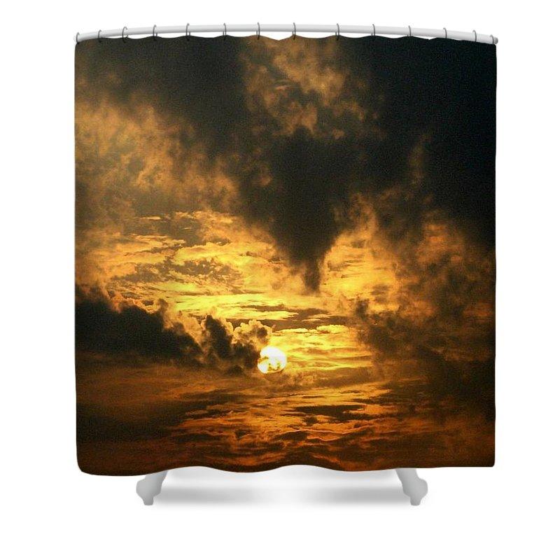 Daybreak Shower Curtain featuring the photograph Alter Daybreak by Rhonda Barrett