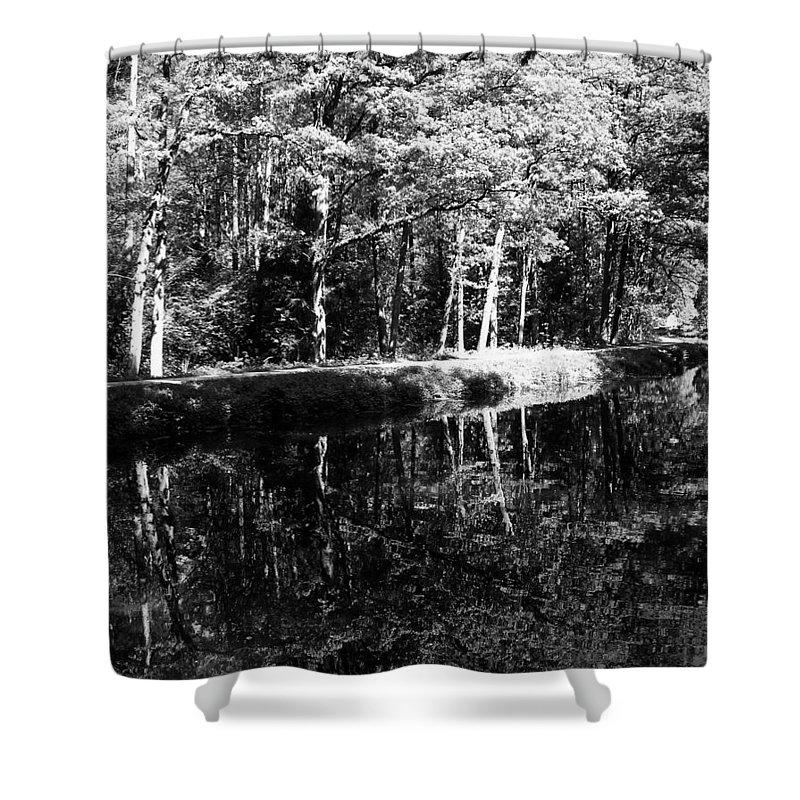 Europe Shower Curtain featuring the photograph Am Alten Kanal by Juergen Weiss