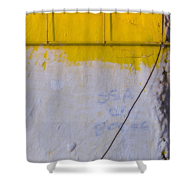 Abstract Shower Curtain featuring the photograph Amarillo by Skip Hunt
