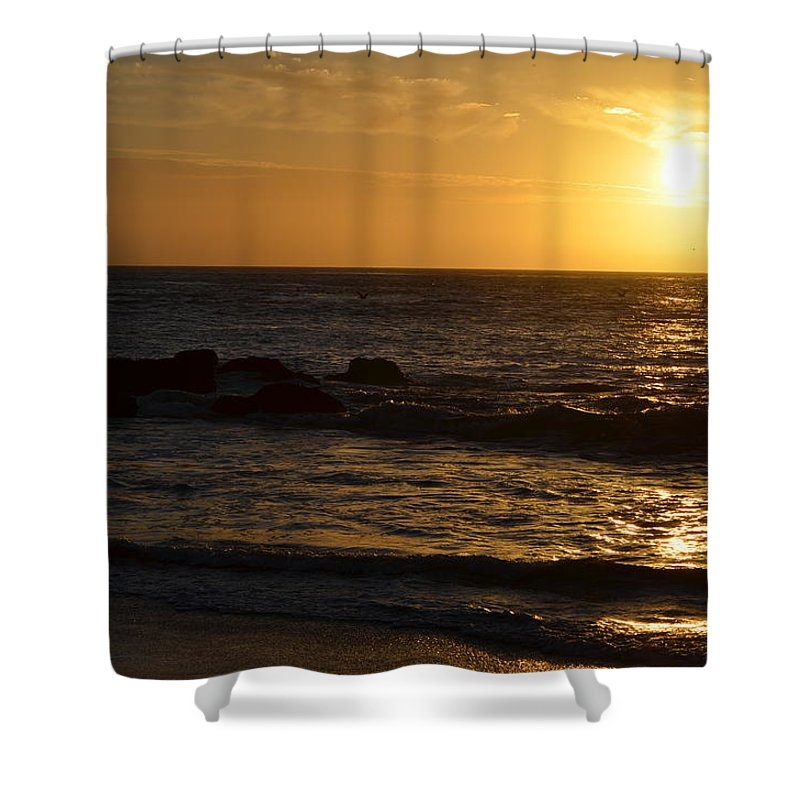 Sunsets Shower Curtain featuring the photograph Amazing Sunset 228 by Remegio Dalisay