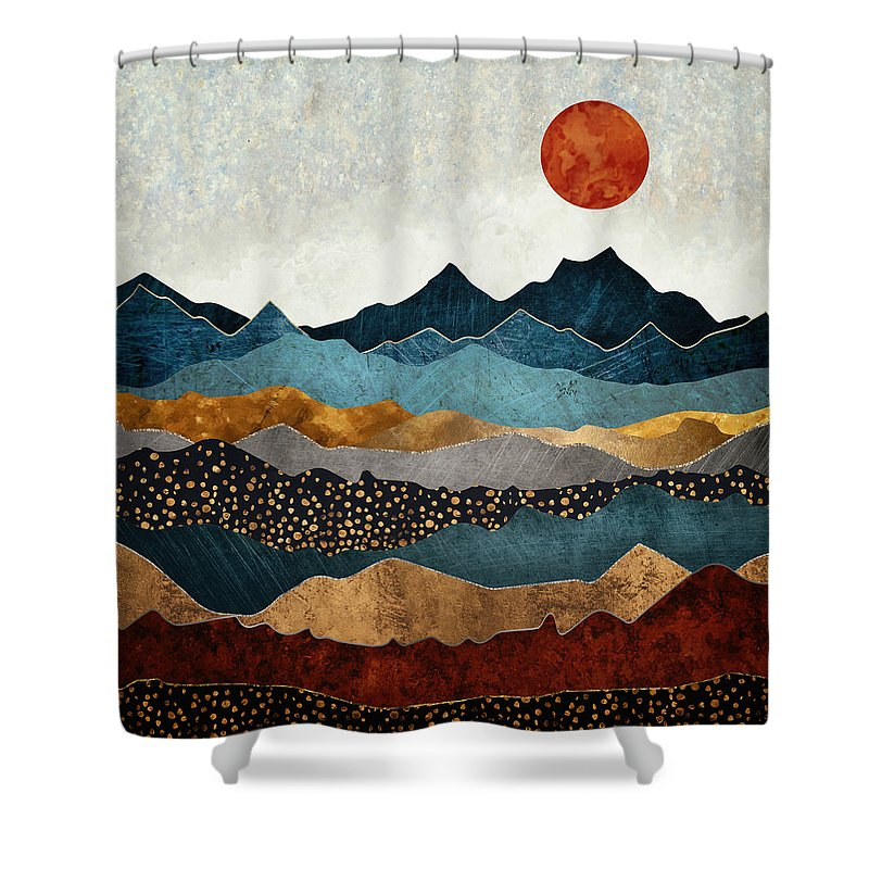 Bronze Shower Curtains