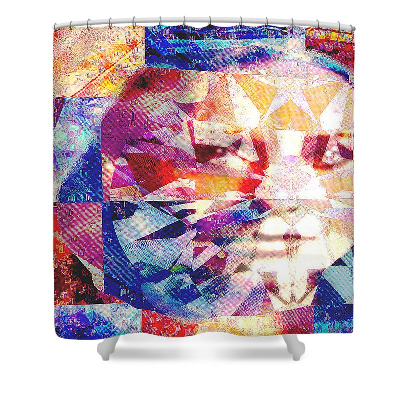 Ameradonna Shower Curtain featuring the photograph Ameradonna by Seth Weaver