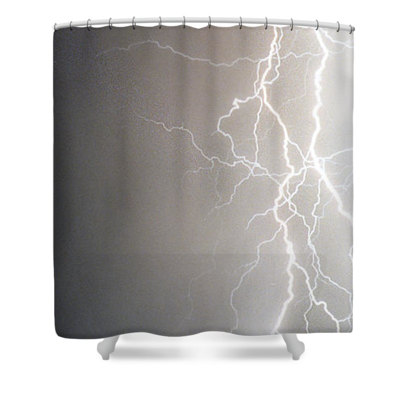 Usa Shower Curtain featuring the photograph American Storm by James BO Insogna