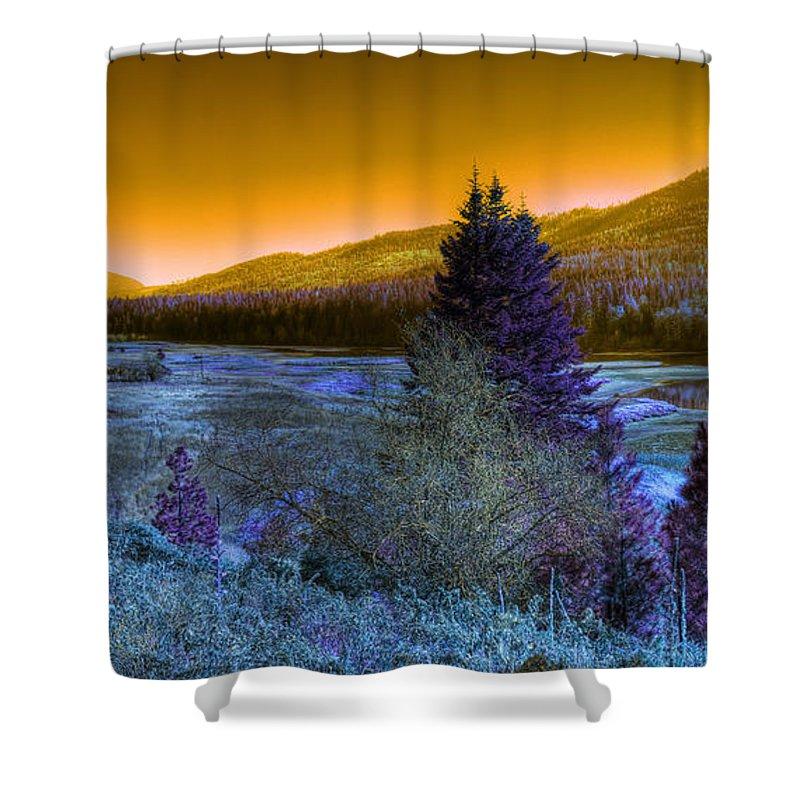 Fantasy Shower Curtain featuring the photograph An Idaho Fantasy 1 by Lee Santa