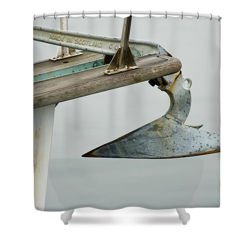 Anchor Shower Curtain featuring the photograph Anchor by Charles Harden