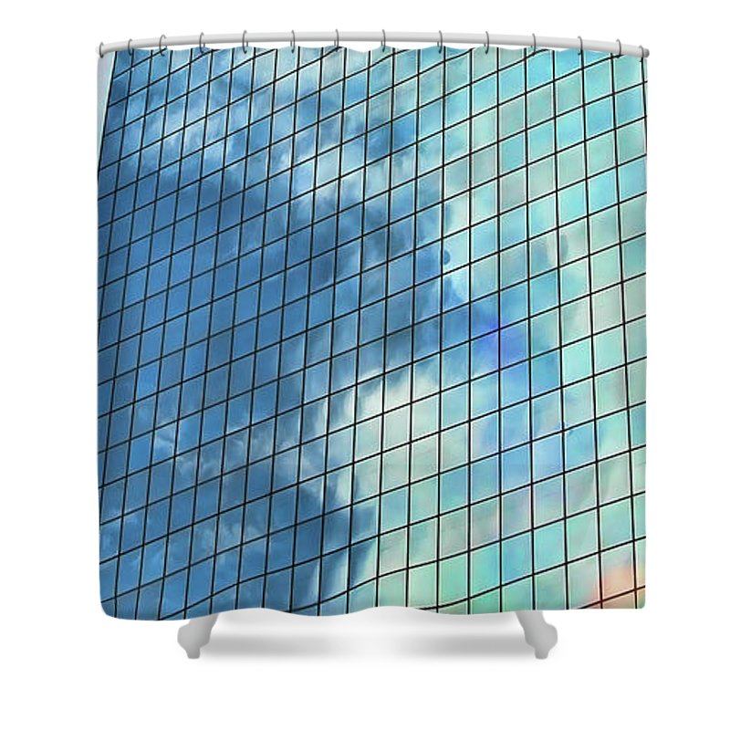 Alaska Shower Curtain featuring the photograph Anchorage Architecture I by Chuck Kuhn
