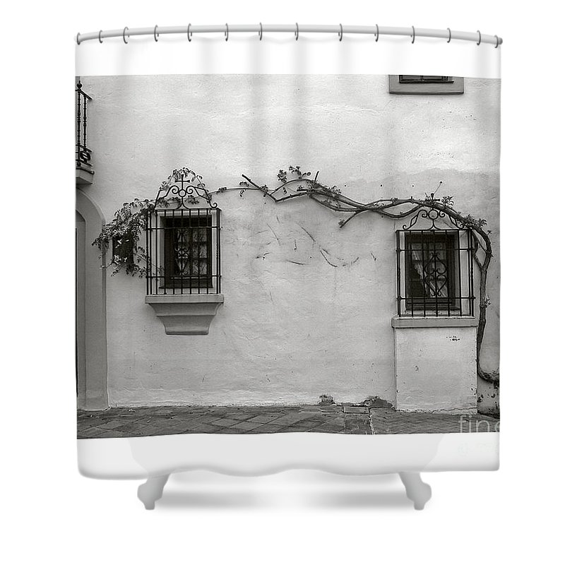 Andalucia Shower Curtain featuring the photograph Andalucia Wall by Thomas Marchessault