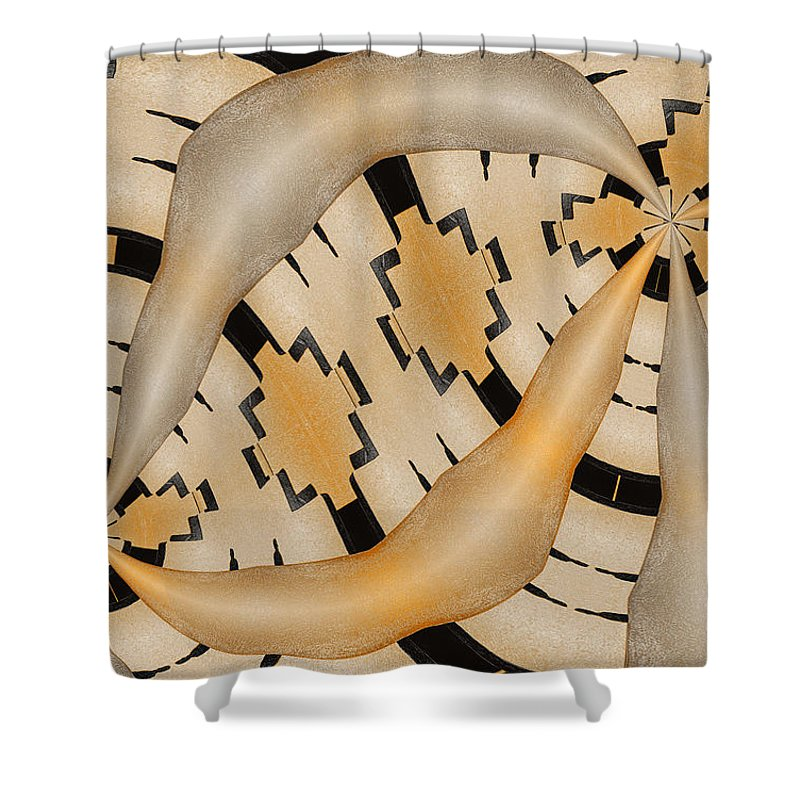 Photography Shower Curtain featuring the photograph Aneurysm by Paul Wear