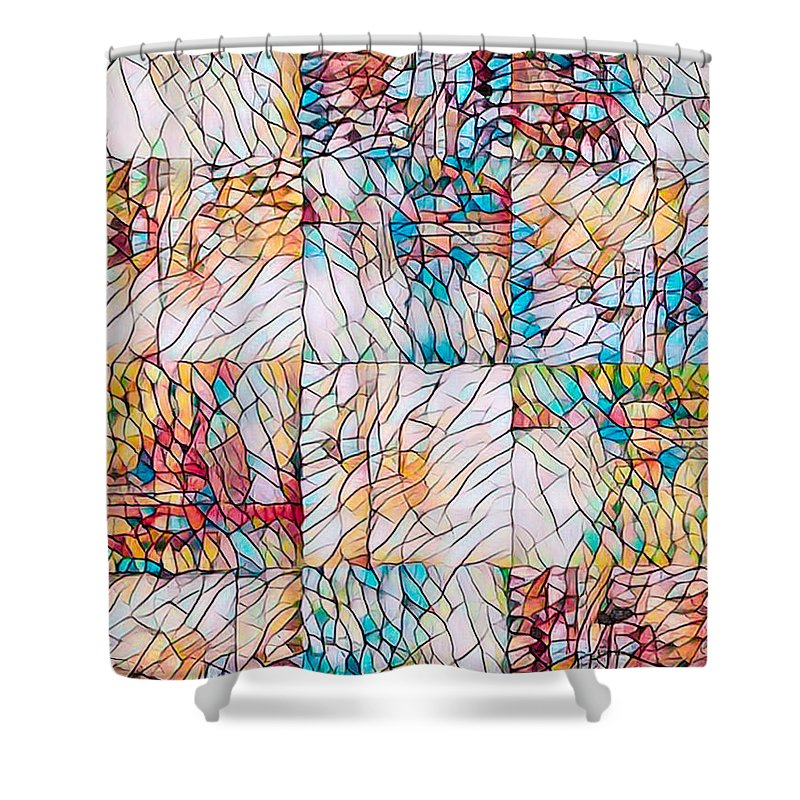 Blanket Shower Curtain featuring the photograph Angel Dreamweaver by Mike Braun