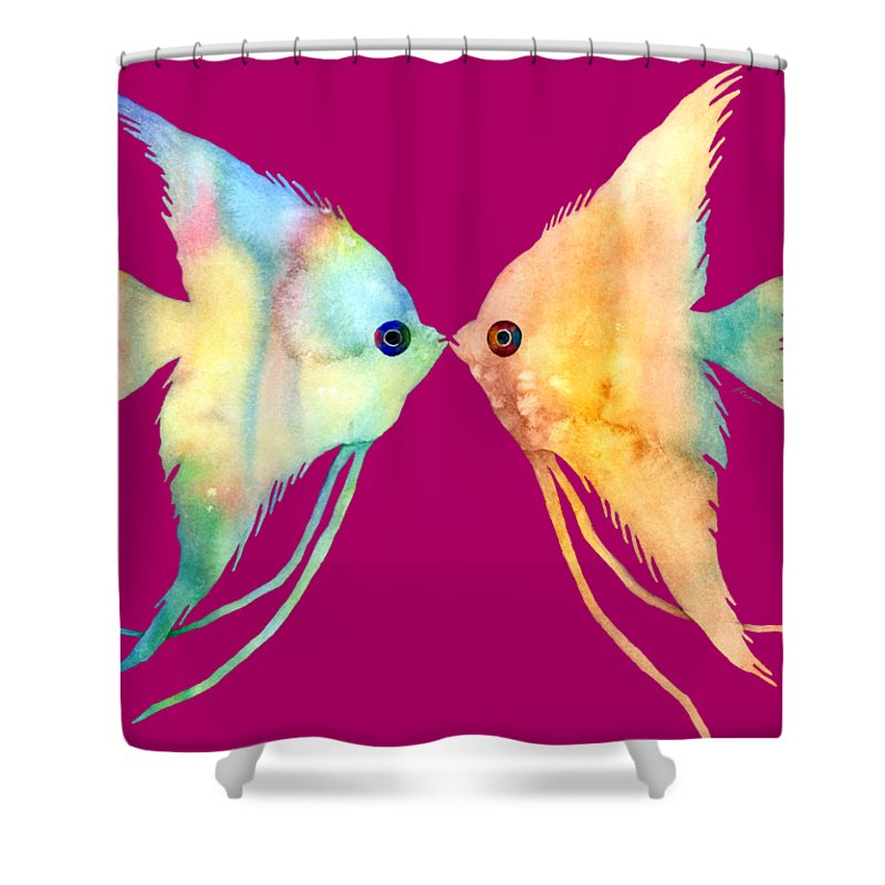 Valentine Paintings Shower Curtains