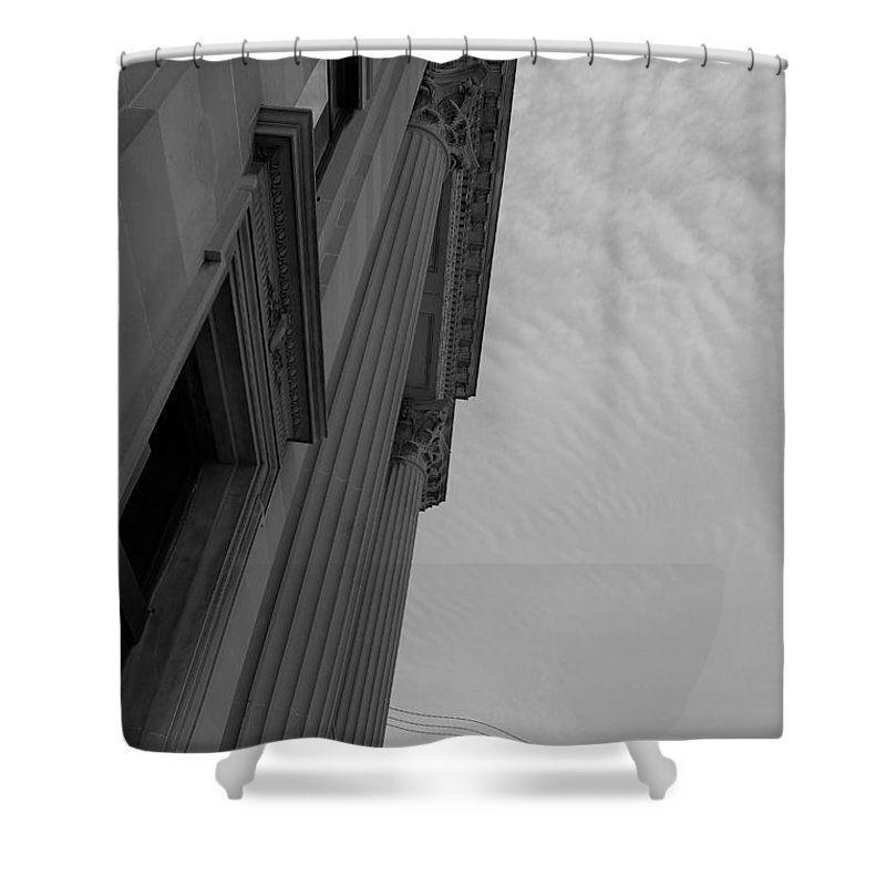 Shower Curtain featuring the photograph Angle by John Bichler