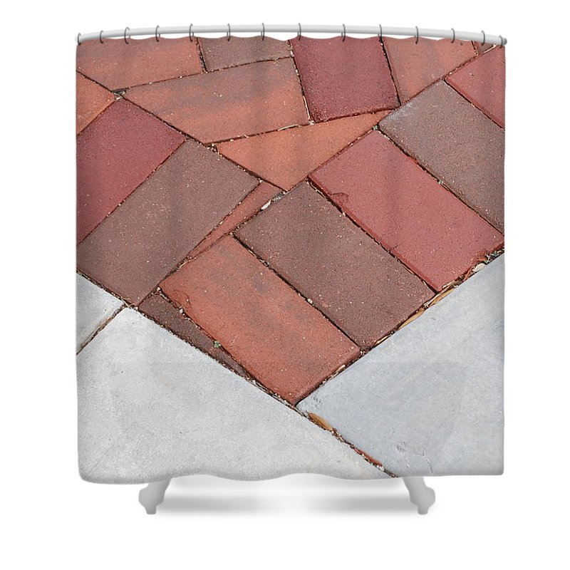 Bricks Shower Curtain featuring the photograph Angles by Rob Hans