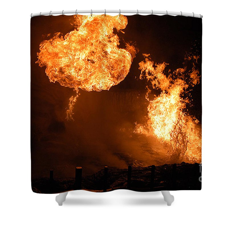 Clay Shower Curtain featuring the photograph Angry Face by Clayton Bruster