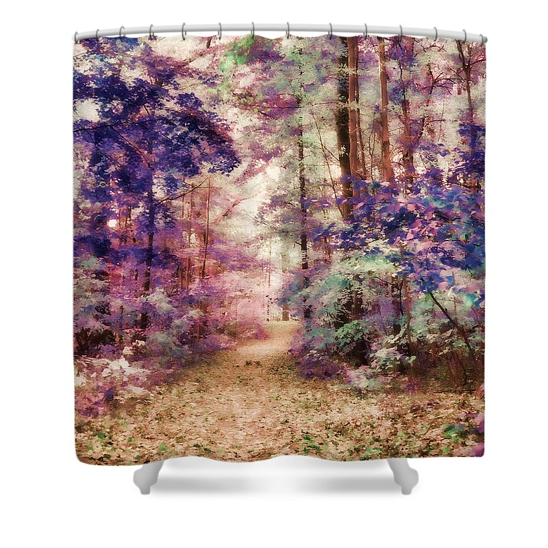 Trees Shower Curtain featuring the photograph Another Season Xiii by Tina Baxter