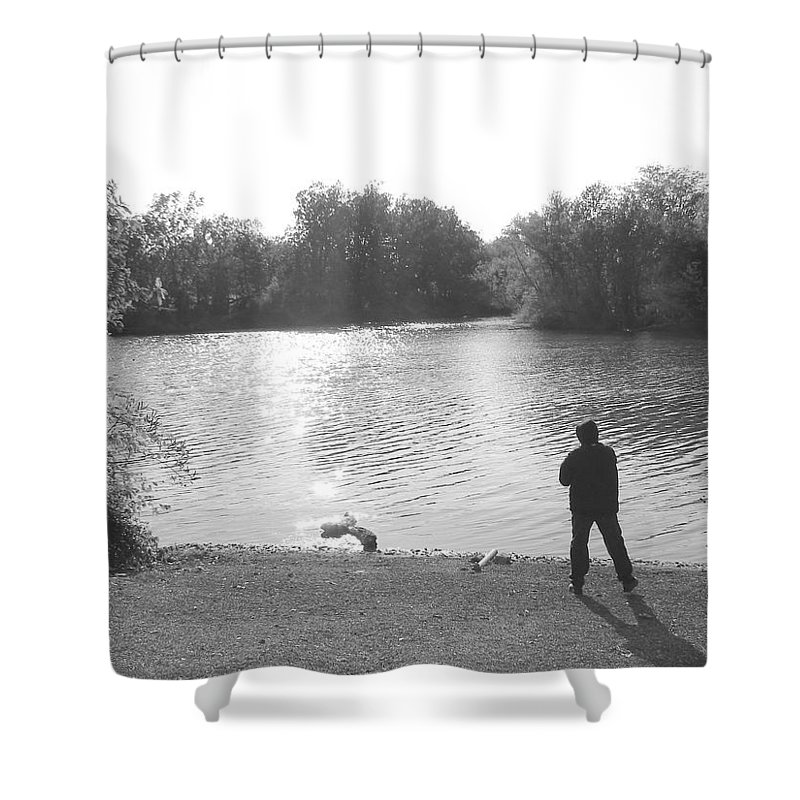 Shower Curtain featuring the photograph Another View by Luciana Seymour