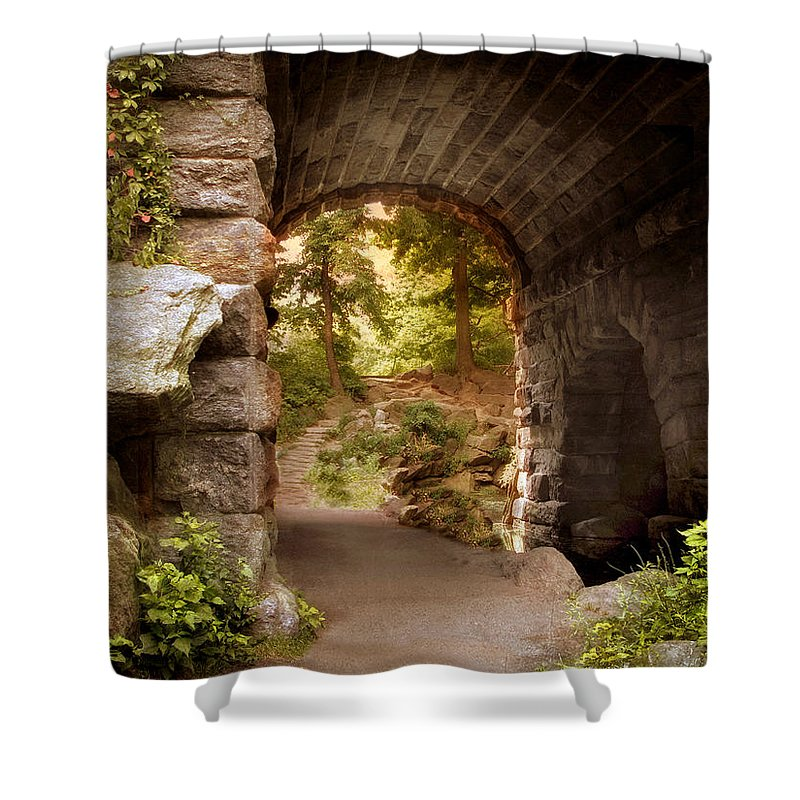 Nature Shower Curtain featuring the photograph Another World by Jessica Jenney
