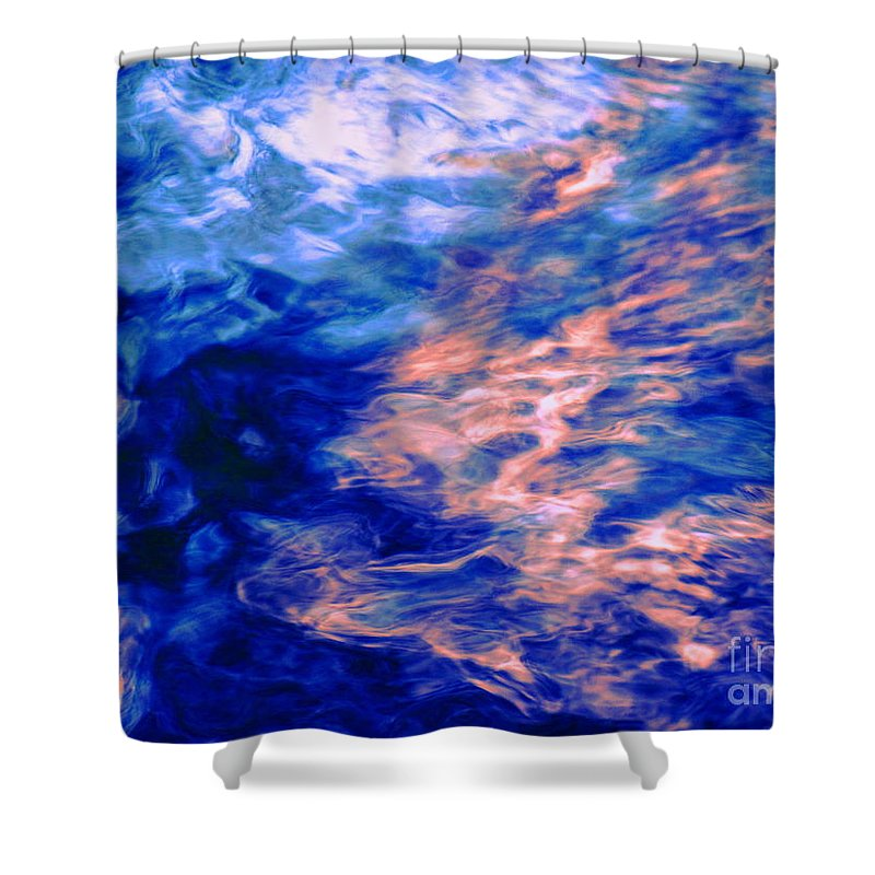 Abstract Shower Curtain featuring the photograph Answered Prayers by Sybil Staples