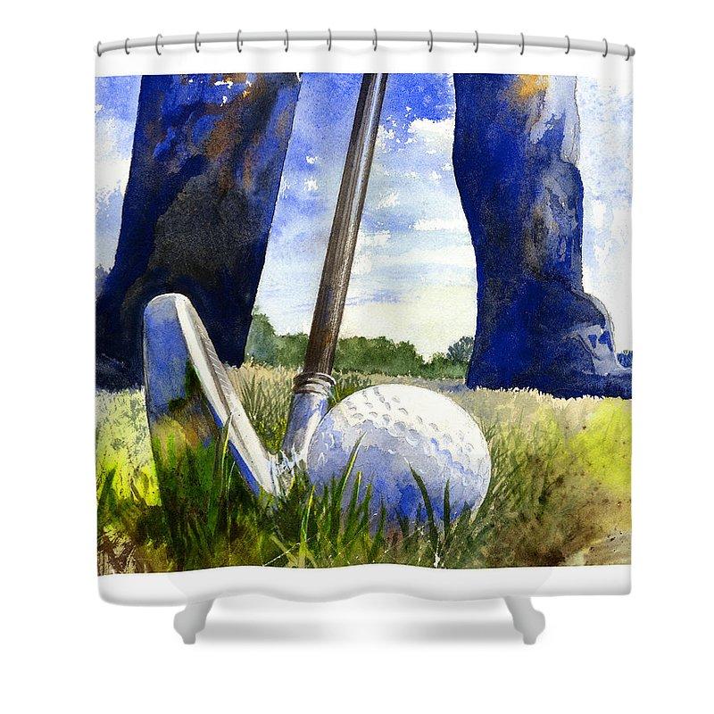 Golf Shower Curtains