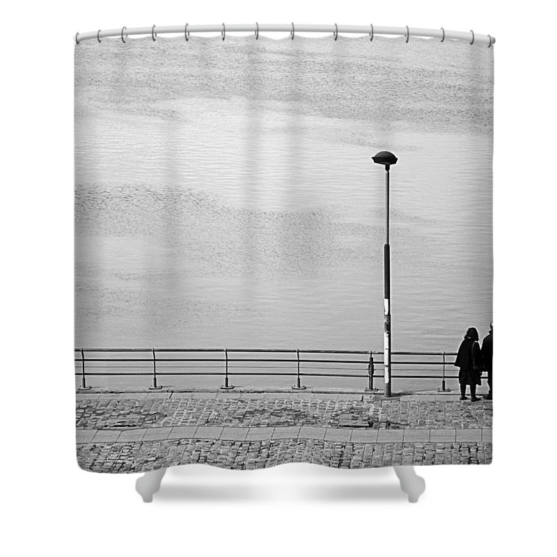 Buenos Aires Shower Curtain featuring the photograph Anytime by Osvaldo Hamer