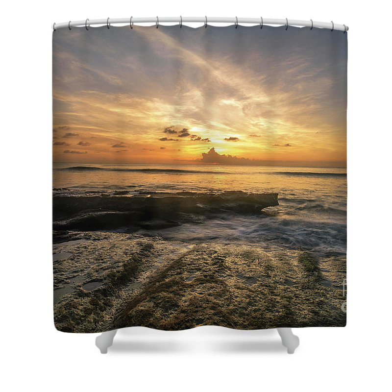 2017 Shower Curtain featuring the photograph Apogee by Hugh Walker