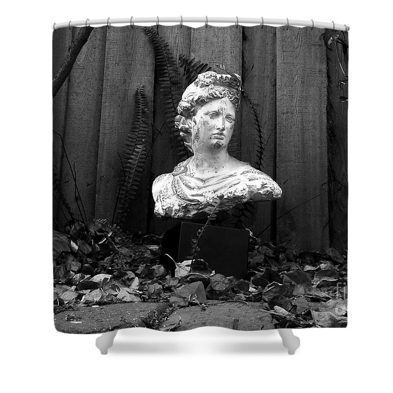 Apollo Shower Curtain featuring the photograph Apollo In The Backyard by David Lee Thompson