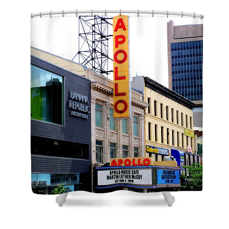 Apollo Theater Shower Curtains