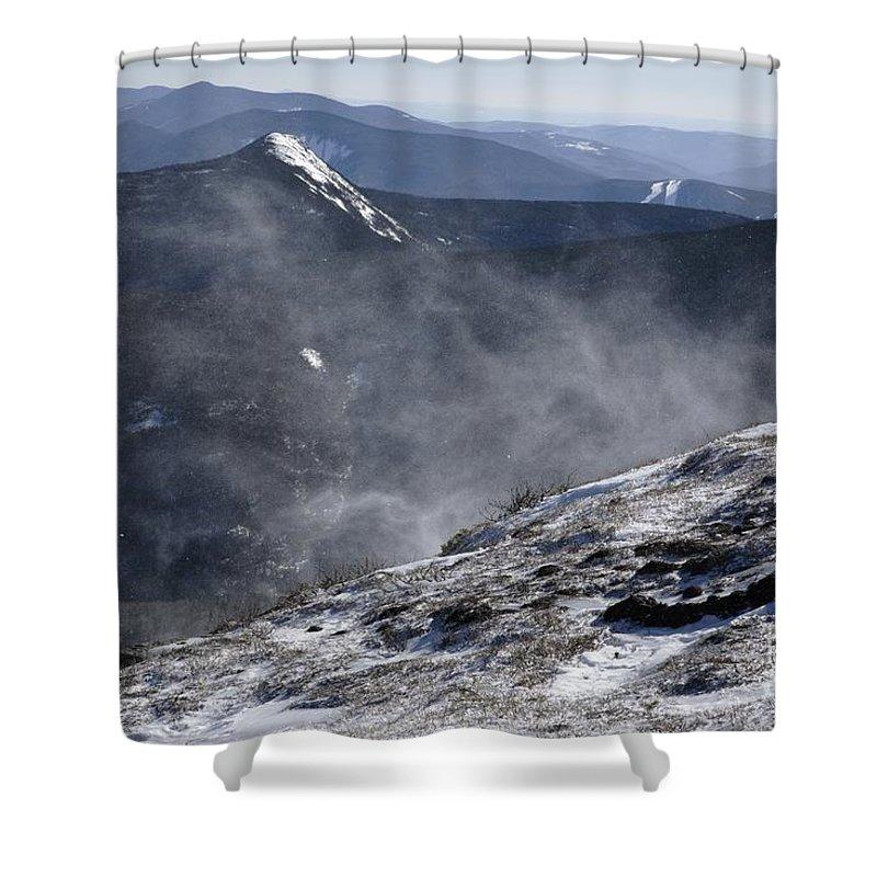 Franconia Ridge Shower Curtain featuring the photograph Appalachian Trail - Franconia Ridge-white Mountains New Hampshire by Erin Paul Donovan