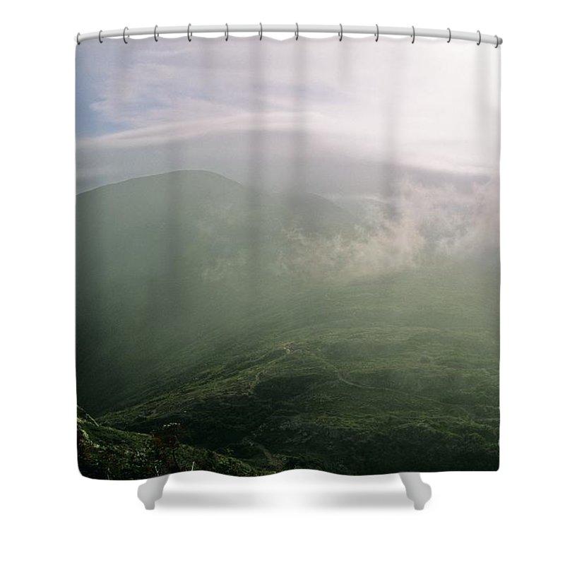 Appalachian Trail Shower Curtain featuring the photograph Appalachian Trail - White Mountains New Hampshire Usa by Erin Paul Donovan