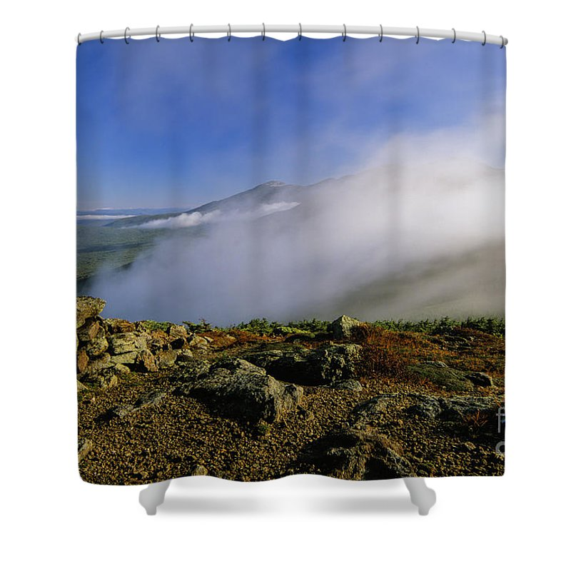 Adventure Shower Curtain featuring the photograph Appalachian Trail - White Mountains New Hampshire Usa by Erin Paul Donovan