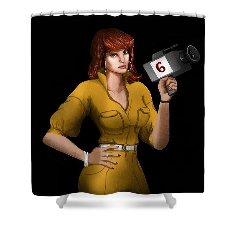 april o neil shower curtain for sale by amber stanford
